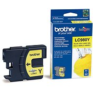Brother LC-980Y (inkoust yellow, 260 str.)