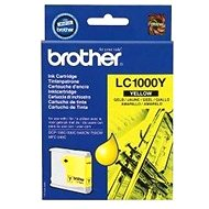Brother LC-1000Y (inkoust yellow, 400 str.)