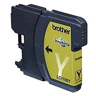 Brother LC-1100Y (inkoust yellow, 325 str.)