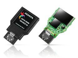 ADATA SATA III DOM paměťová karta 32GB, MLC, 0 to 70C, 7pin, horizontální,bulk