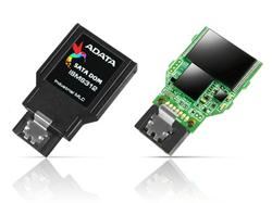 ADATA SATA III DOM paměťová karta 16GB, MLC, 0 to 70C, 7pin, horizontální,bulk