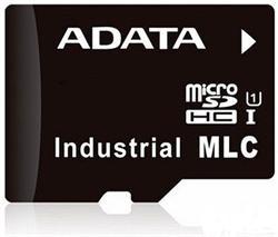 ADATA micro SD karta Industrial, MLC, 8GB, 0 až 70°C (33MB/s / 10MB/s),bulk