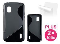 CONNECT IT S-COVER pro LG Nexus 4 (E960) ČERNÉ