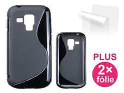 CONNECT IT pouzdro na telefon, Samsung Galaxy S Duos (S7562) ČERNÉ
