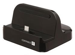CONNECT IT univerzální micro USB dokovací stanice pro mobilní telefony