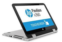 HP Pavilion x360 13-s000nc, Core i3-5010U dual, 13.3 FHD, UMA, 4GB, 500GB + 8GB NAND, W8.1, Natural silver - rozbalený