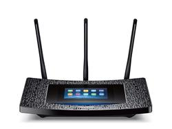 TP-Link Touch P5 - Touch Screen dual Gigabit router, 4x GLAN, 2x USB - 600Mbps/2,4GHz+1300Mbps/5GHz