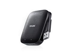 TP-Link UH400, 4 ports USB 3.0 Hub, přenosný, bez nutnosti nap. adaptéru