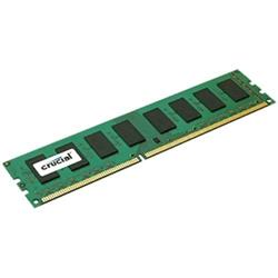 Crucial DDR3L 8GB DIMM 1.35V 1600MHz CL11 ECC DR x8