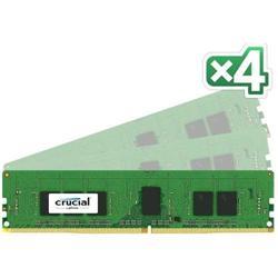 Crucial DDR4 16GB (Kit 4x4GB) DIMM 2133MHz CL15 ECC Reg SR x8