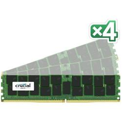 Crucial DDR4 64GB (Kit 4x16GB) DIMM 2133MHz CL15 ECC Reg DR x4