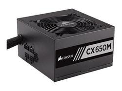 Corsair PC zdroj 650W CX650M semi-modulární 80+ Bronze 120mm ventilátor