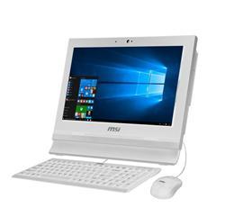 """MSI AP1622ET-028XEU T/15.6"""" 1366x768/Celeron® 1037U/4GB/500GB/HD VGA/-/DSUB///USB3/GLAN/Com port/LPT/NoOS/White"""
