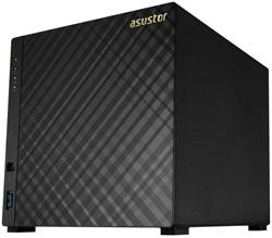 Asustor™ AS3204T 4-bay NAS, Intel Celeron N3150 1.6GHz Quad Core, 2GB DDR3L, GbE, 3x USB 3.0, HDMI 1.4b