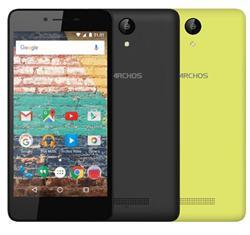 """ARCHOS 50e Neon, 5"""" 854x480, 1.3GHz QC,1GB/8GB,Android 6.0, 8mp/2mp, MicSD,Dual SIM,černá+zvýrazňovací záda v balení"""