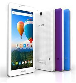 """ARCHOS 70 Xenon, Tablet 7"""" 1024x600 IPS, 1.3GHz QC, 1GB/8GB, Android 5.1, MicSD, USB, 3G,BT,GPS,WiFi, bílá/modrá/fialová"""