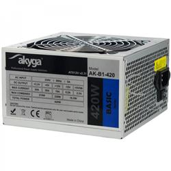 Akyga ATX Zdroj 420W Basic ventiláror 12cm P4 3xSATA