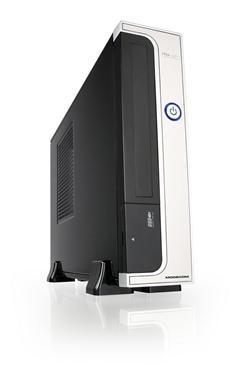 MODECOM PC skříň FEEL 302, Mini - ITX,  černá+stříbrná