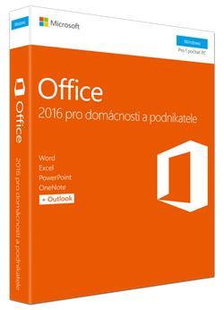 BUNDLE - 2x MS FPP Office 2016 pro domácnosti a podnikatele Win CZ P2 + 500Kč poukázka