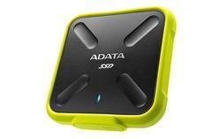 ADATA externí SSD SD700 256GB USB 3.1 3D TLC (čtení/zápis: 440/430MB/s) Žlutá