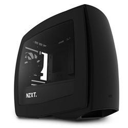 NZXT Manta, počítačová skříň, mITX, USB3.0, černá, průhl. bočnice