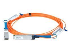 Mellanox active fiber cable, VPI, up to 56Gb/s, QSFP, 10m