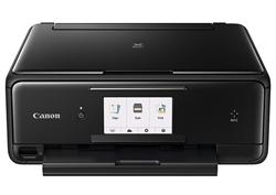 Canon PIXMA TS8050 - PSC / NFC / Wi-Fi / AP / WiFi-Direct / Duplex / PictBridge / PotiskCD / 9600x2400 / USB black
