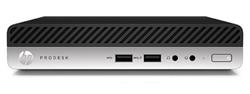HP ProDesk 400 G3 DM, i3-7100T, Intel HD, 8 GB, SSD 256 GB, W10Pro, 1y