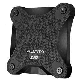 ADATA externí SSD SD600 256GB USB 3.1 Gen1 3D NAND TLC (čtení/zápis: 440/430MB/s) Černá