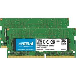 Crucial DDR4 16GB (Kit 2x8GB) SODIMM 2133MHz CL15 SR x8
