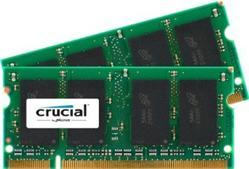 Crucial DDR4 4GB (Kit 2x2GB) SODIMM 2400MHz CL17 SR x16