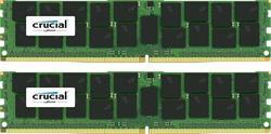 Crucial DDR4 32GB (Kit 2x16GB) DIMM 2400MHz CL17 ECC Reg DR x4