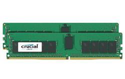Crucial DDR4 32GB (Kit 2x16GB) DIMM 2400MHz CL17 ECC Reg DR x8