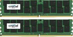 Crucial DDR4 128GB (Kit 2x64GB) DIMM 2400MHz CL17 ECC Load Reduced QR x4