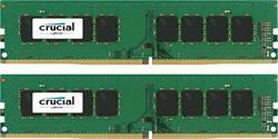 Crucial DDR4 32GB (Kit 2x16GB) DIMM 2400MHz CL17 ECC DR x8 VLP