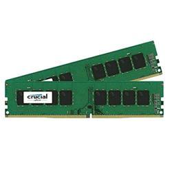 Crucial DDR4 8GB (Kit 2x4GB) DIMM 2400MHz CL17 ECC SR x8