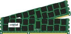 Crucial DDR3 32GB (Kit 2x16GB) DIMM 1866MHz CL13 ECC Reg DR x4