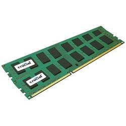Crucial DDR3L 8GB (Kit 2x4GB) DIMM 1.35V 1600MHz CL11 ECC Reg SR x8
