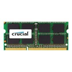 Crucial DDR3 4GB SODIMM 1066MHz CL7 pro Mac