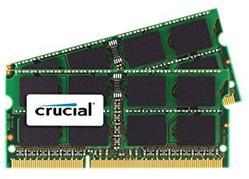 Crucial DDR3 4GB (Kit 2x2GB) SODIMM 1333MHz CL9 pro Mac