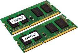 Crucial DDR3L 8GB (Kit 2x4GB) SODIMM 1.35V 1866MHz CL13 pro Mac