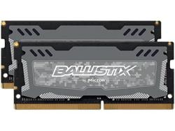 Crucial DDR4 8GB (Kit 2x4GB) Ballistix Sport LT SODIMM 2400MHz CL16 SR x8 šedá