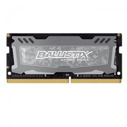 Crucial DDR4 8GB Ballistix Sport LT SODIMM 2666MHz CL16 DR x8 šedá
