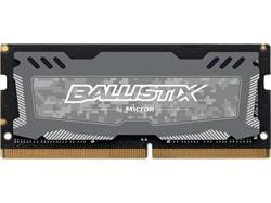 Crucial DDR4 16GB Ballistix Sport LT SODIMM 2666MHz CL16 DR x8 šedá
