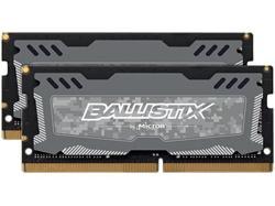 Crucial DDR4 8GB (Kit 2x4GB) Ballistix Sport LT SODIMM 2666MHz CL16 SR x8 šedá