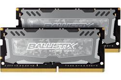 Crucial DDR4 32GB (Kit 2x16GB) Ballistix Sport LT SODIMM 2666MHz CL16 DR x8 šedá
