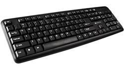 CANYON klasická USB klávesnice, omývatelná, černá, ruský layout
