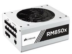 Corsair PC zdroj 850W RM850x modulární 80+ Gold 135mm ventilátor bílý