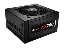 Corsair PC zdroj 760W AX760 modulární 80+ Platinum 120mm ventilátor