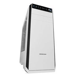 MODECOM PC skříň OBERON, Midi Tower, ATX/ Micro ATX/ ITX, bílá